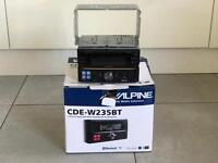 Alpine CDE-W235BT Double Din Headunit
