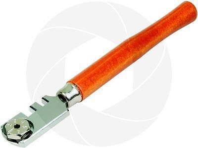 130mm 6 Blade Glass Mirror Windows Shelves Cutter Cutting Toll Wooden Handle