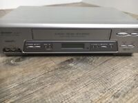 Sharp Stereo VHS Video Recorder