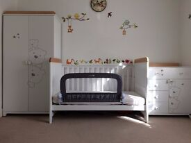 Tutti Bambini 3 Bears 3 Piece Nursery Furniture Set