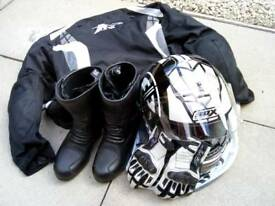 ***only helmet now available***Ladies Motorcycle gear