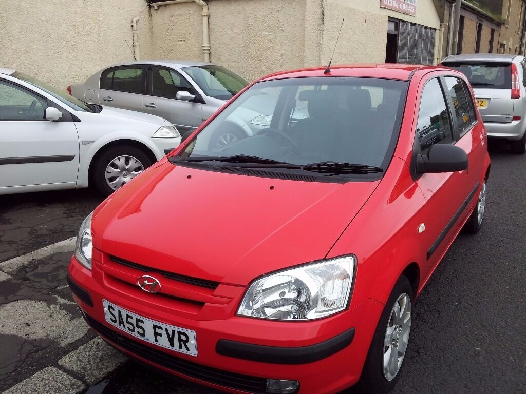55 hyundai 1.1 getz cdx.5 door hatchback.manual.petrol.service records