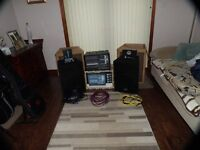 "BEHRINGER 1680S EUROPOWER AMP WITH PEAVEY MESSENGER 12"" SPEAKERS, &MANY EXTRAS NEARLY NEW"