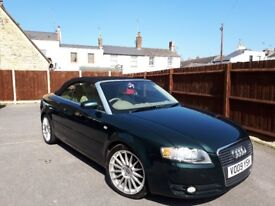 Just right for summer, beautiful Audi A4 Cabriolet.