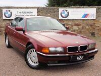 BMW E38 730i V8, Automatic, 1994 / M Reg, 90k Miles, 2 Owners, MOT: January 2018, Calypso Red