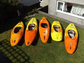 5 Kayaks - will sell separately, see ad