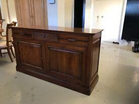 Beautiful Cherry Wood Side Cabinet