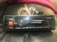 Alpine UTE 72BT stereo Bluetooth,usb and aux
