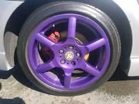 Vauxhall gsi wheels