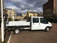 Ford Transit 115 T350L Tipper Truck With Tail Lift 2010