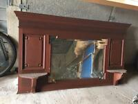 Mirror /fireplace mirror