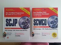 SCJP and SCWCD Books - 12 ONO, sun certified java certification guide
