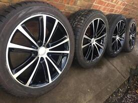 """Brand New 20"""" VW Transporter T5 T6 alloy wheels +new 275/40/20 tyres T32 T30 RP£1400 Amarok CAN POST"""