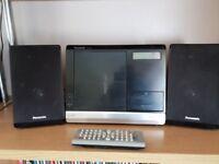 Panasonic CD player with dock for iPod