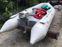 Honda Alu Deck Boat Inflatable