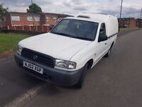 MAZDA b2500 2.5 DIESEL PICK UP TRUCK TRUCKMAN TOP GOOD CLEAN CONDITION PICKUP