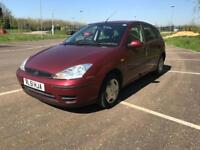 FORD FOCUS 2002 1.4 1 YEAR MOT ONLY DONE 32K MILES DRIVES LOVELY