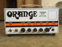 Orange Terror Bass 500w Amp Head