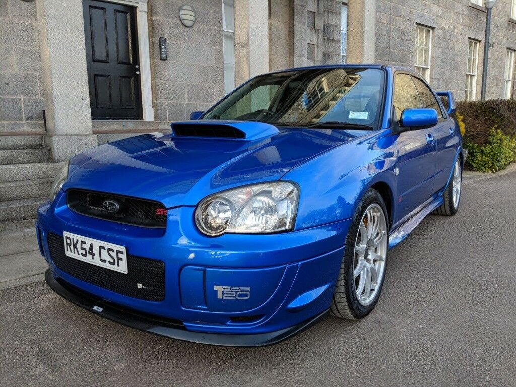 2004 54 subaru impreza sti jdm litchfield type 20 for sale in aberdeen gumtree. Black Bedroom Furniture Sets. Home Design Ideas