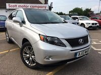 LEXUS RX 3.5 Advance Station Wagon CVT 4WD 5dr (Pan roof) (silver) 2012