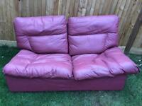 Free! Leather Sofa