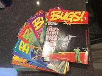Orbis Bugs complete magazine collection 1-65