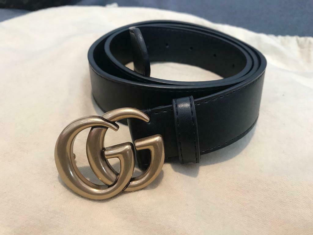 bf3b4694e Gucci Marmont leather double G belt | in Notting Hill, London | Gumtree