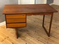 Vintage Mid Century Danish Teak Desk