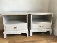 Stag Shabby Chic Bedside Tables