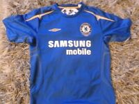 CHELSEA FOOTBALL SHIRT VERY GOOD CONDITION SIZE ADULT MEDIUM
