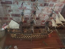 HMS Victory Hand made
