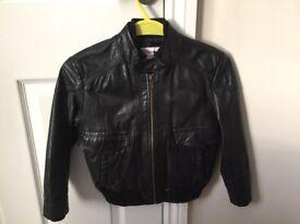 Boys leather jacket (age 7-8)