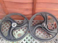 bmx wheels x2sets