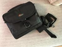 Lowepro Camera Bag with shoulder strap