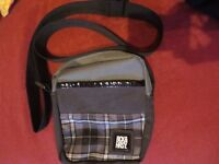 Used Small Beck and Hersey Messenger bag/ Man bag