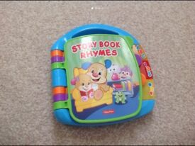 Fisher price musical story book