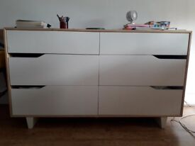 Rare IKEA MANDAL chest of drawers for a stylish living room