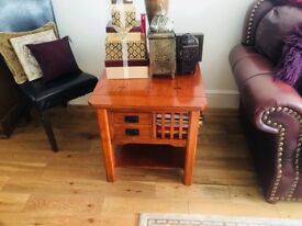 Solid Oak funiture tables from DFS