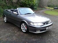 2003/03 SAAB 93 TURBO SE 82000 MLS FSH MOT 1YR