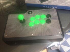 Modified Venom Fight Stick PS4 with Sanwa Parts