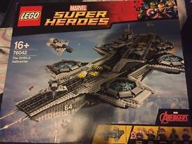 Lego shield helicarrier 76042
