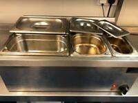 Dry Bain Marie / Buffet warmer electric waterless