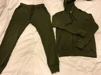 Bee Inspired Khaki Tracksuit size Large