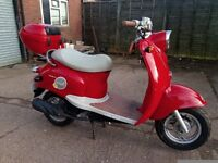 Sukida 50cc (2008) low mileage, delivery available