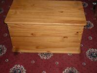 Toy Box / Storage Chest - Solid Pine