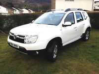 DACIA DUSTER 1.5 dCi 119 4x2 Alloy Wheels WHITE