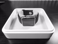 Apple Watch 38mm Stainless Steel Black Sport Band