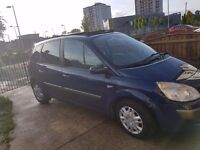 2006 56plate renault scenic top spec panoramic sunroof, rear pull up blinds, new tyres,