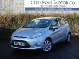FORD FIESTA 1.6 ZETEC TDCI 5d 89 BHP NEW MOT AND SERVICE (silver) 2009