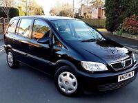 Lovely Vauxhall Zafira 1.6cc,7 Seater,Service History,Mot,Low miles